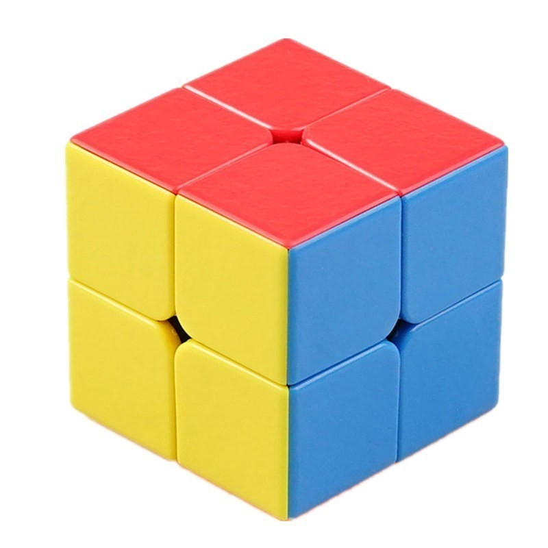 ShengShou 50mm Divine Jewel 2x2x2 Magic Cube 2 By 2 Magic Cube Striae Colour Competition Cubes Educational Toys For Kids Cubo