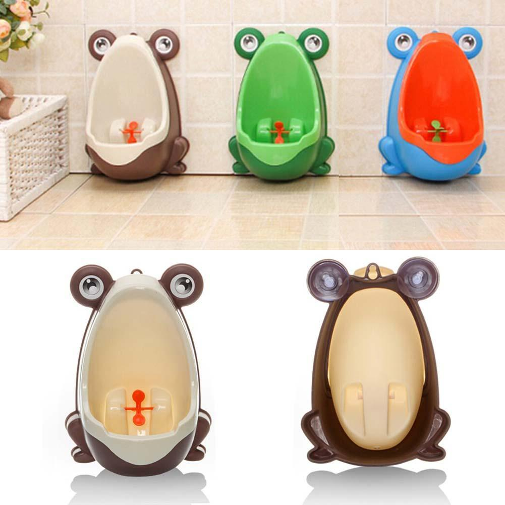 New Arrival Baby Boy Potty Toilet Training Frog Children Stand Vertical Urinal Boys Infant Toddler Wall-Mounted