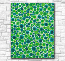 Large Handmade Oil Painting Wall painting Yayoi Kusama DOTS-OBSESSION Home Decorative Wall Art Picture For Living Room painting(China)