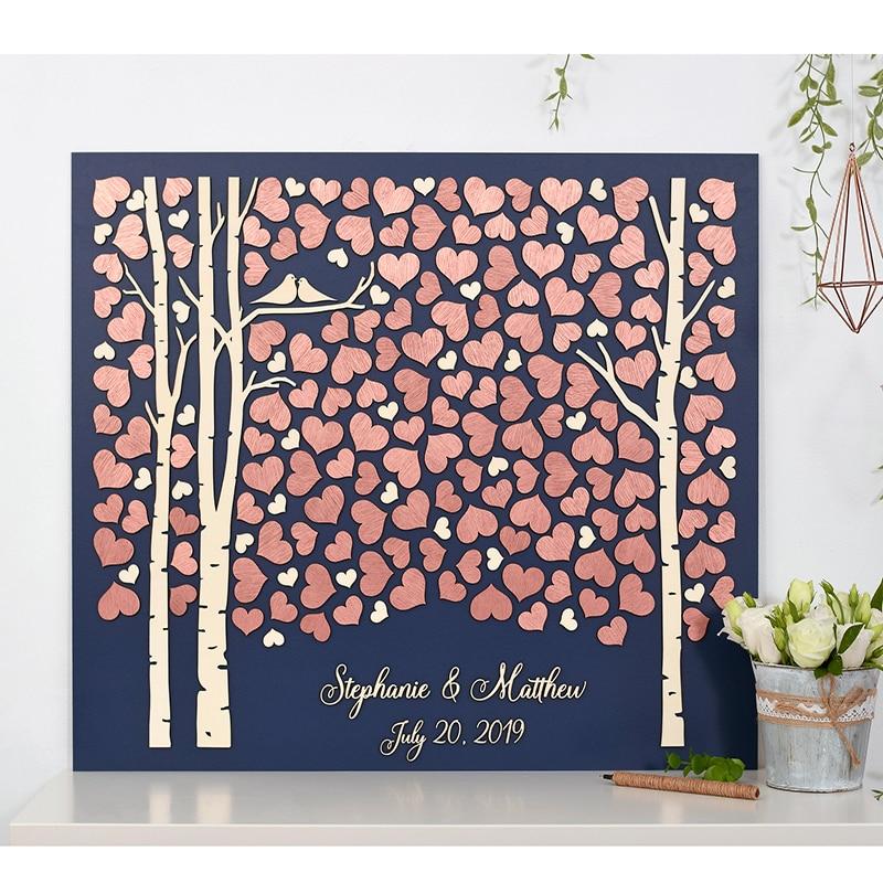 Fun Wedding Guest Book Ideas: Rustic Wedding Guestbook Tree Alternative Wood
