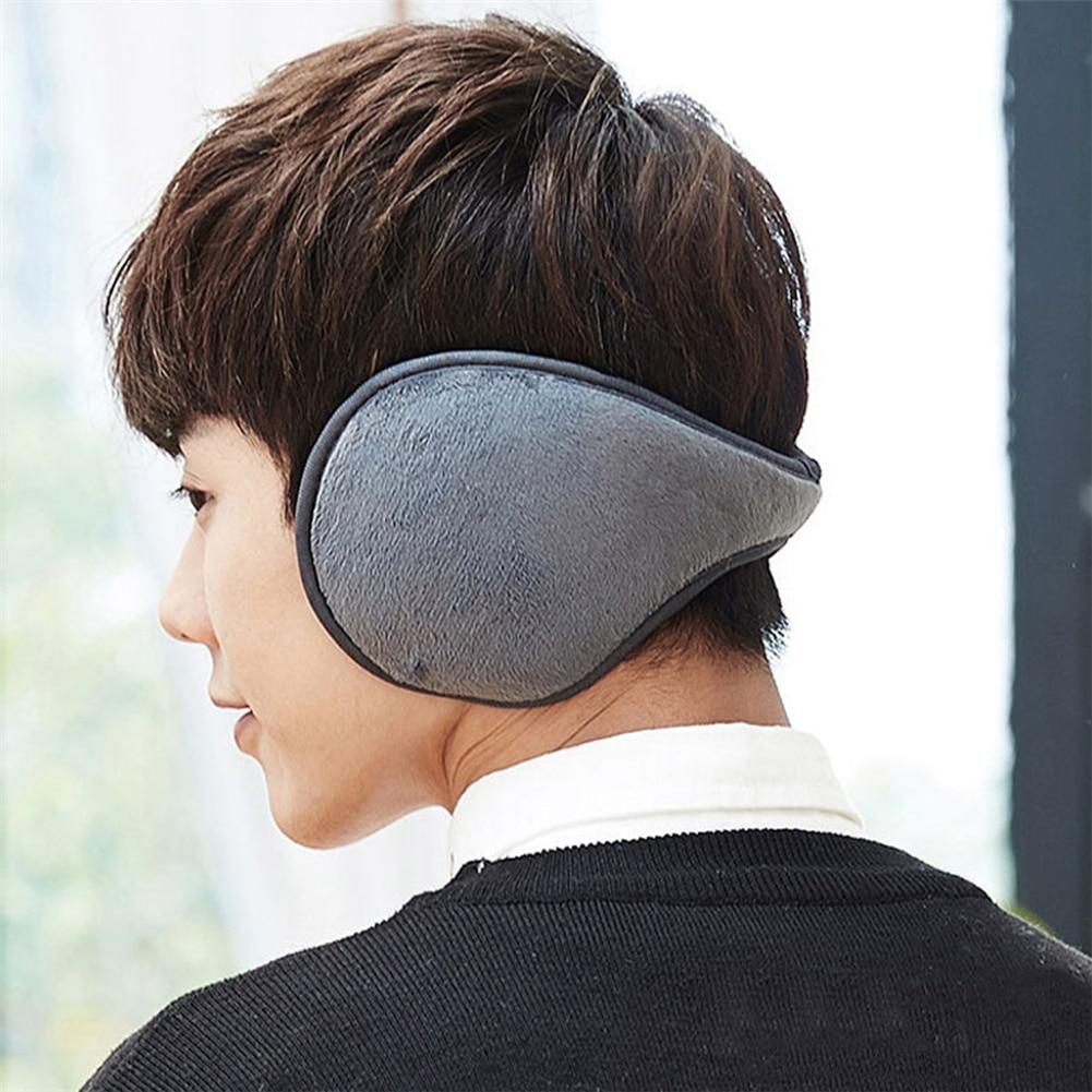 Winter Warm Thickening Plush Headphones For Men Women New Soft Casual Earmuff Adjustable Ear Warmer Cover Earflap Orejeras Mujer