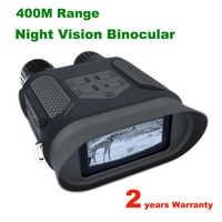 400M portée infrarouge IR lunettes de Vision nocturne NV400B NV jumelles comme portée de chasse nocturne 7X31 zoom NV lunettes chasseur jumelles