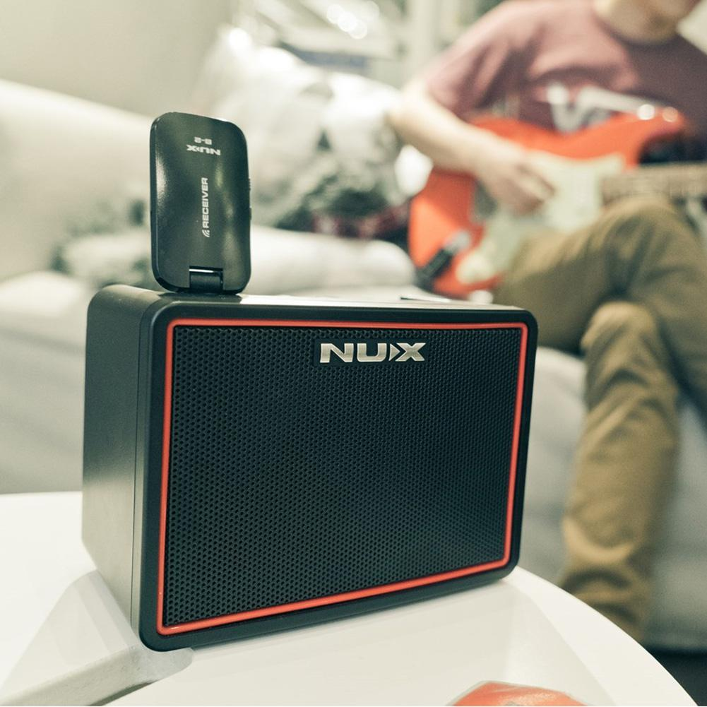 Image 5 - NUX 4.2W DC9V Guitar Amp Speaker Mini Amplifier Portable Multifunction Mighty Lite BT Mini Desktop Guitar Accessories-in Guitar Parts & Accessories from Sports & Entertainment
