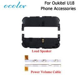 Kolor dla Oukitel U18 głośnik dla Oukitel U18 przycisk zasilania klawisz głośności  części do wymiany taśmy wysokiej jakości