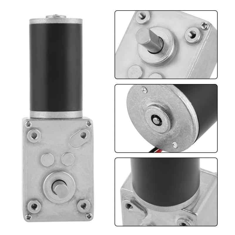 Шестерня ed мотор 5840-31ZY постоянный магнит DC турбо червь мотор-редуктор коробка передач с самоблокирующимся обратным редуктором 12 В 200 об./мин