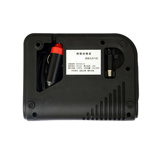 Image 5 - ポータブル 12 12v dc車のタイヤインフレータミニ電動空気圧縮機ポンプ黒abs車のバイクrv suv atv