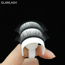 GLAMLASH 1set 5 in 1 u band eyelash holder and 2 lash glue rings cups adjustable size for extensions