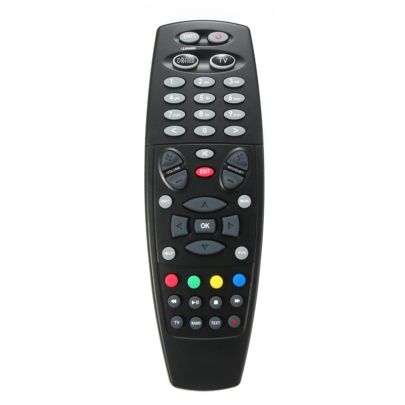 1pc High Quality Remote Control Replacement Black Remote Controller Replacement For Dreambox DM800 DM800HD DM800SE