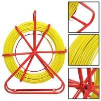 4,5 мм протяжная проволока стекловолоконной проволоки кабель ходовой шток канальный протягиватель кабеля Съемник инструмент с превосходно