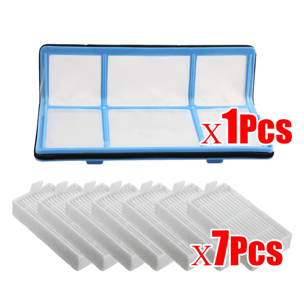 Original 1xPrimary Filter+7x Efficient Hepa Filter For Chuwi Ilife V5 V5s V3 V3s V5 Pro V50 V55 X5 Robot Vacuum Cleaner Parts