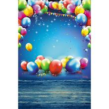 hot deal buy alloyseed happy balloons party cam photo studio photography backdrops studio video art cloth fabric photo background decoration
