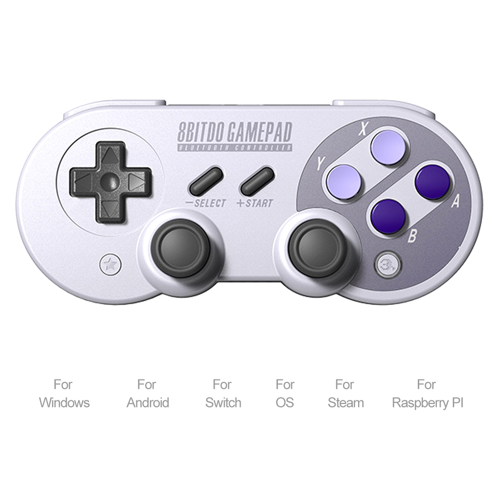Consumer Electronics Generous 8bitdo Sn30/sf30 Pro Wireless Gamepad Bluetooth Control Joystick For Switch Android Rumble Vibration Motion Controls Nourishing Blood And Adjusting Spirit