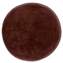 Absorbent Soft Circular Fitness Yoga Bathroom Floor Shower Mat Rug Non-slip 38*38cm