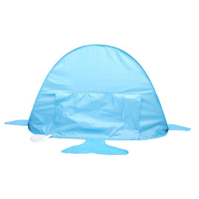 Popup Infant Beach Tent | Childrens Play Sunshade Shark Style