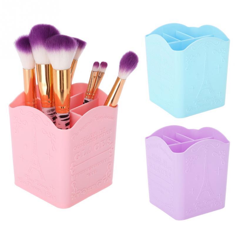 Home Storage & Organization Home & Garden Charitable Meyjig Plastic Cosmetic Storage Box Desk Makeup Remote Control Case Brush Lipstick Holder Office Bathroom Organizer