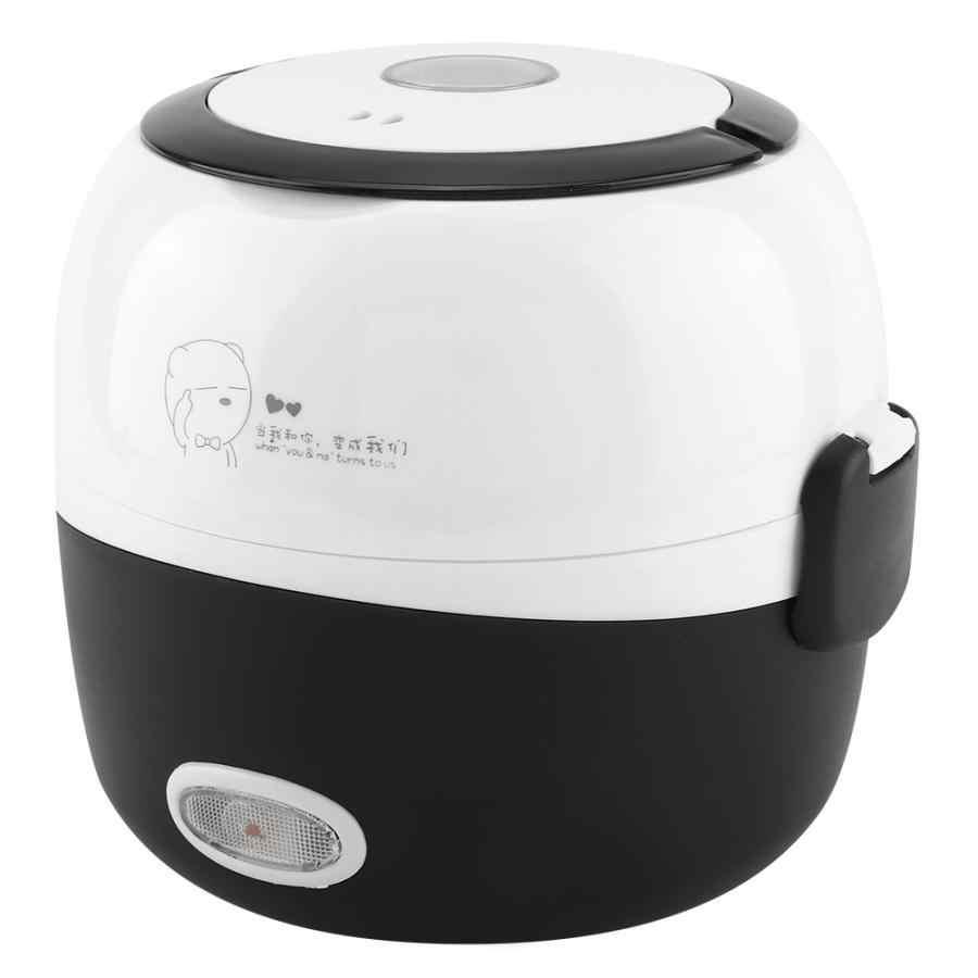 Đa chức năng Bữa Ăn Hộp Điện Mini Hấp Thực Phẩm Gạo và Rau Thịt Điện 220 V CN Cắm Hộp Cơm Trưa điện