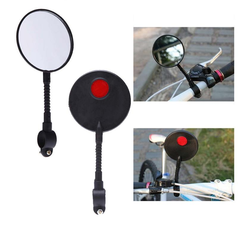 Bicycle Mirror Adjustable Flexible Cycling Rear View Convex Mountain Bike Handlebar Rearview Mirror CycleBicycle Mirror Adjustable Flexible Cycling Rear View Convex Mountain Bike Handlebar Rearview Mirror Cycle