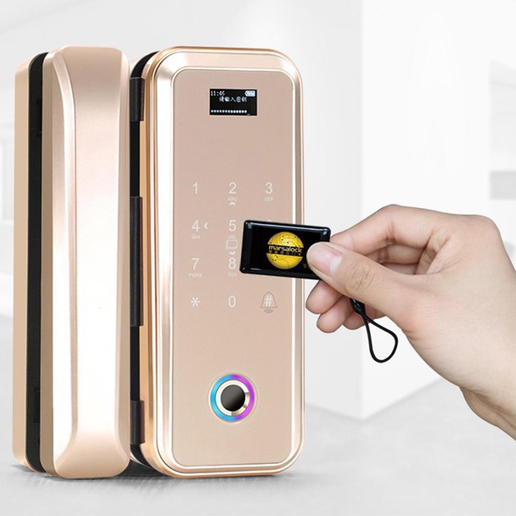 Home Smart Electronic Digital APP IC Card Password door lock, Fingerprint, App, Fingerprint Password Door Lock
