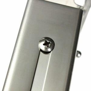 Image 3 - Edelstahl Mikrowelle Faltbare Ofen Regal Rack Unterstützung Rahmen Stretch Einstellbare Wand Halterung Halter Küche Lagerung