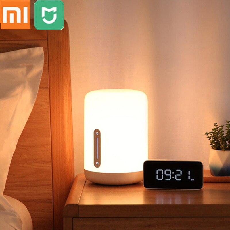 Xiaomi Mijia Smart LED Bedside Lamp Smart Control Design unction Adjustable Brightness