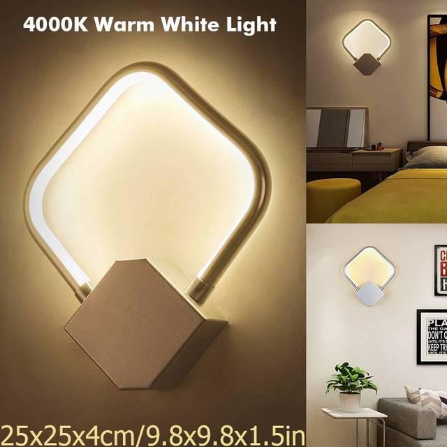 Chaud Lampe Lumières Moderne Led Murale 4000 Pour Mini K Intérieur Blanc Nouveau Murales Applique Mur Chambre Salon Lampes b7Y6gyf