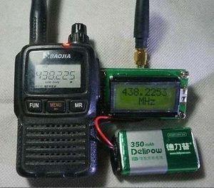 Image 5 - Contador da frequência da elevada precisão 1 500mhz de dykb + antena para o hobbist do rádio do presunto