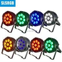 8pcs/lot Dmx Wireless Battery Light Waterproof Powered 64 Stage Slim Bar 9pcs RGBWPY 6IN1 Leds Par Can Tyanshine leds lamp|Stage Lighting Effect| |  -