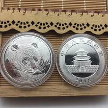 AUGKUN Big Panda Baobao Commemorative Coins Collection Chinese Panda Coin Collection Commemorative Coin Art Gift(China)
