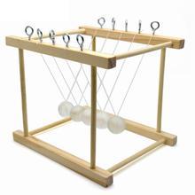 Newtons маятниковый Баланс Мячи Физика Наука Колыбель развивающие игрушки DIY наборы для экспериментов домашняя школа развивающий набор для детей DIY