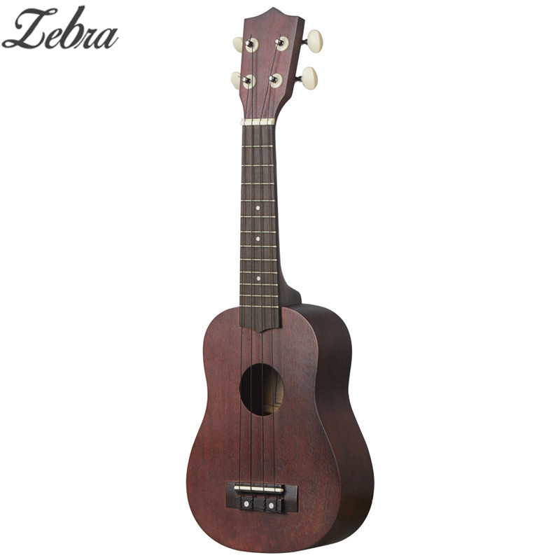 Sports & Entertainment Zebra 21 Inch Jujube Red Ukulele 4 Strings Sapele Fingerboard Rosewood Hawaiian Acoustic Guitar Uke Stringed Musical Instruments Agreeable To Taste Musical Instruments