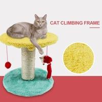 Creative Practical Pet Supplies Random Color Sisal Cat Scratching Pillar Cat Climbing Frame Pet Supplies Products Cat Supplies