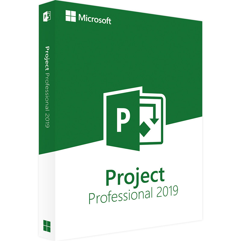 Microsoft Office Project Professional 2019 License key Download Digital Delivery 1 User-in Office Software from Computer & Office
