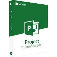 Цифровой ключ для загрузки лицензионного ключа от Microsoft Office Project Professional, 1 пользователь, 2019