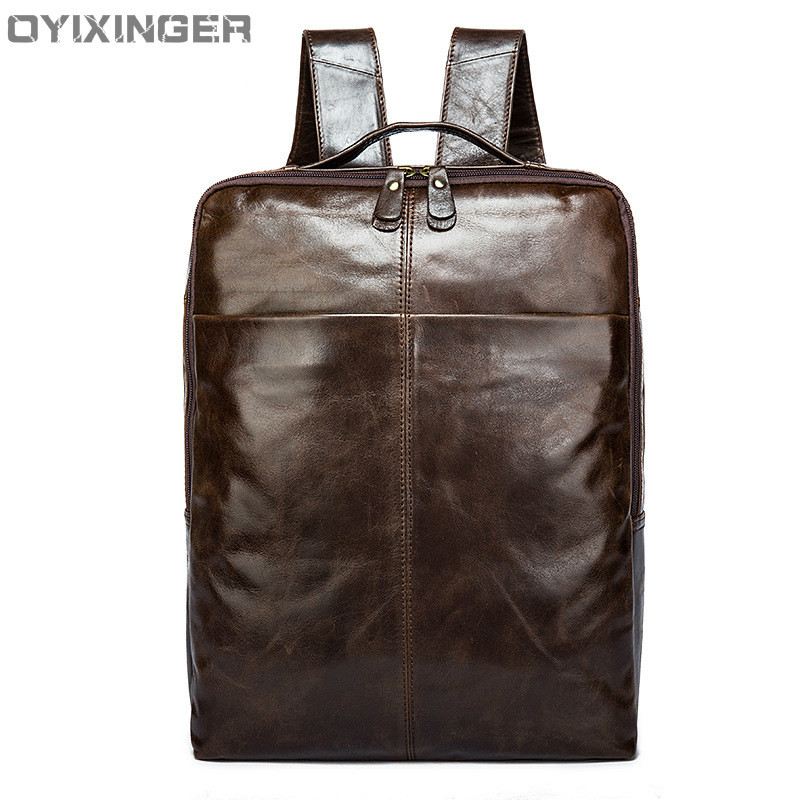 Men Backpacks Designer Daypack Travel Backpack Mens Shoulders Genuine Leather Bags Travel Bag Leather Male Cowhide Shoulder BagMen Backpacks Designer Daypack Travel Backpack Mens Shoulders Genuine Leather Bags Travel Bag Leather Male Cowhide Shoulder Bag