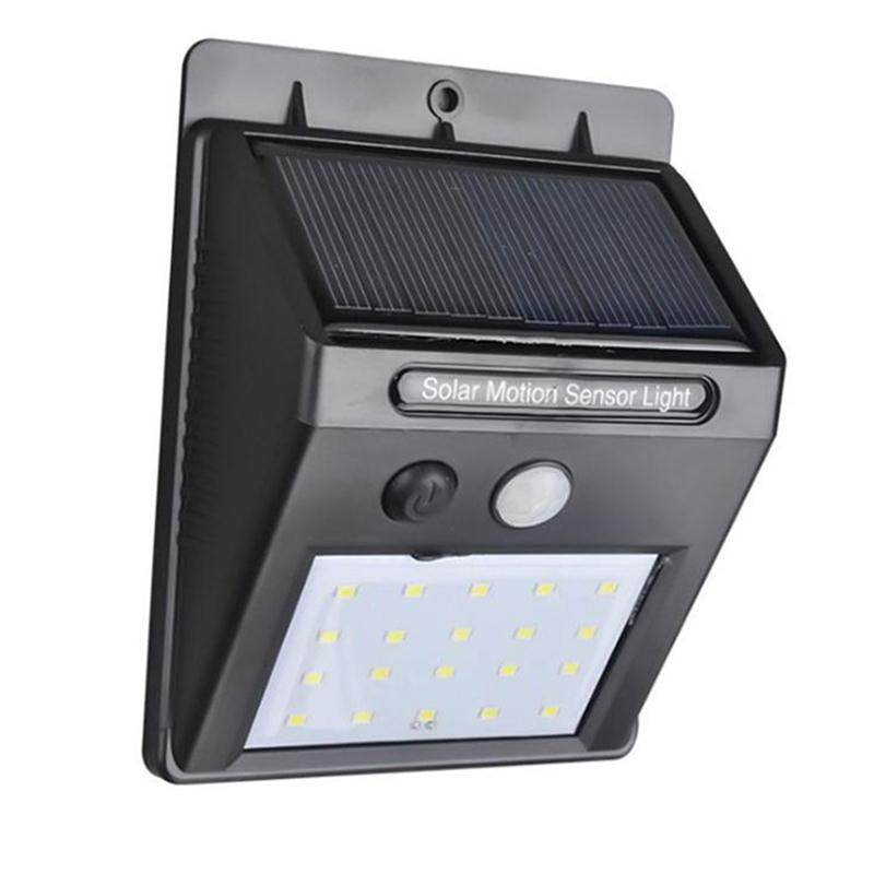Solar Lights Lamp Outdoor LED Wireless Waterproof Wall PIR Flood Garden Lighting