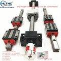SFU1605 + 4 hgw20cc | guide linéaire, montage carré, charge carrée, module de mouvement linéaire, vis à bille 2 pièces