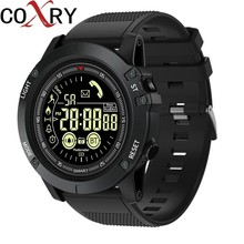 COXRY Professional Outdoor Watch Smart Men Sport Wrist Watch Digital Watch Men Waterproof Smartwatch For Android IOS Stopwatch