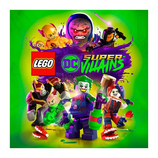 Игра для Sony PlayStation 4 LEGO DC Super-Villains, русские субтитры