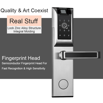 Eseye Digital Door Lock Smart APP Bluetooth Password Fingerprint For Home Apartment Electronic