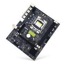 X79 LGA 1356 Pin настольная материнская плата RECC DDR3 Серверная ЦП материнская плата DDR3 двойной двухканальный PCI-E X16 для Intel H61 Hexa Core