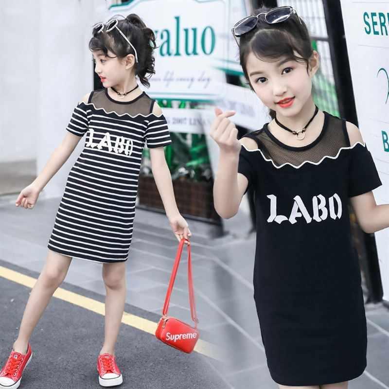 Trẻ em Quần Áo Cô Gái Váy Mùa Xuân 2019 Mới của Hàn Quốc Phiên Bản 4 Trẻ Em 5 Công Chúa 6 Nước Ngoài Khí 7 Ren 8 năm Tuổi