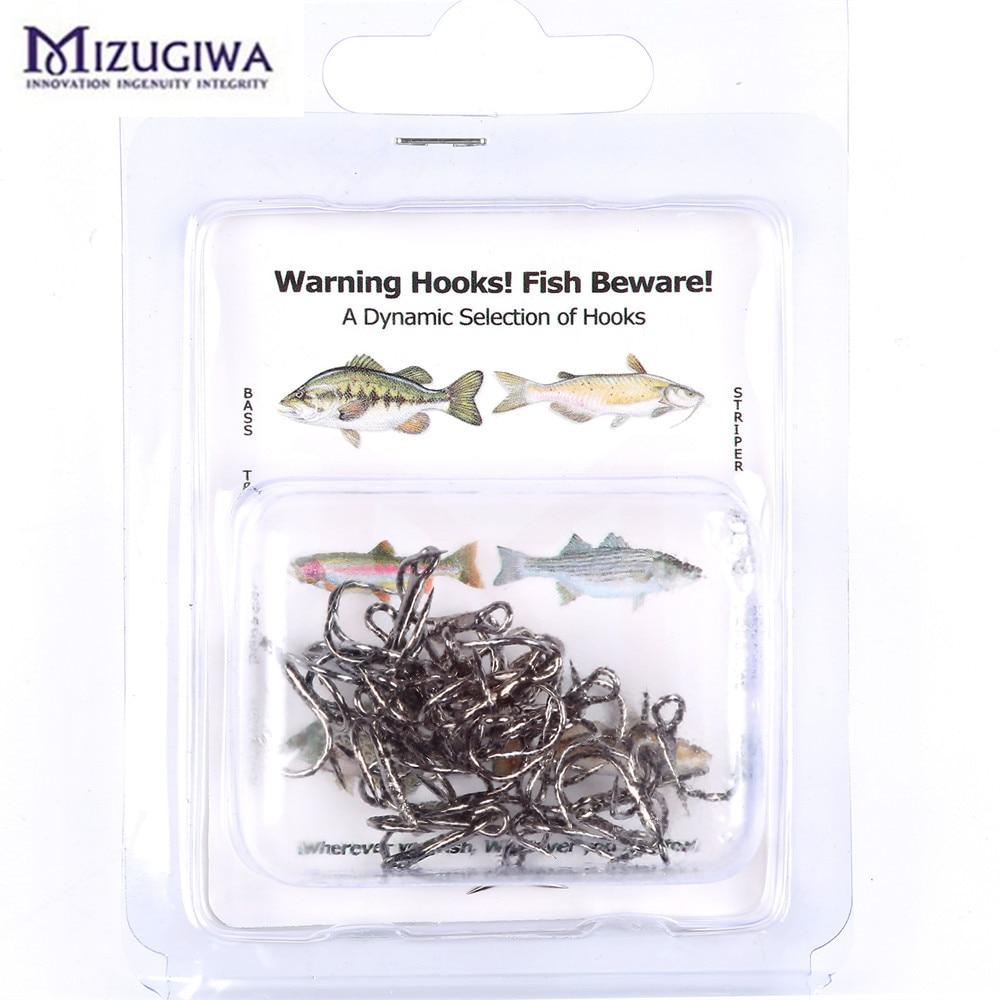 2Packs Saltwater Soft Plastic Fishing Bait Lure Shrimp Short Shank Treble Hooks