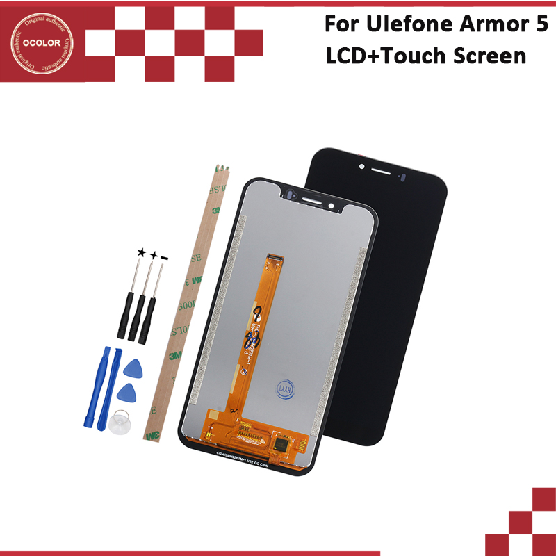 ocolor For Ulefone Armor 5 LCD Display and Touch Screen5 85 Inch 100 New Repair For
