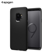Защитный чехол Spigen для Samsung Galaxy S9 Liquid Air цвет черный матовый/592CS22833/100