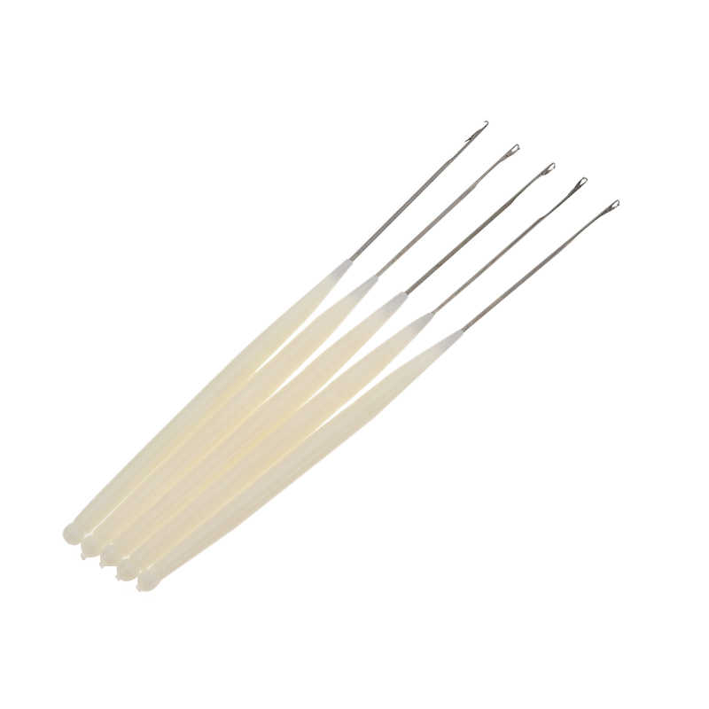 1 stks/partij Haak Haak Naald Voor Synthetisch Haar Uitbreiding Tool En Maken Jumbo Senegalese Twist Micro Vlechten Pruiken