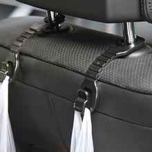 2 шт. крючок для автомобильного сиденья, вешалка, автомобильные зажимы, держатель для хозяйственной сумки, держатель для хранения, зажимы, Универсальное крепление на подголовник, крючок для хранения, автомобильный стиль