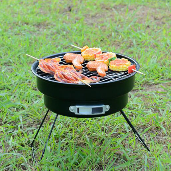 Seashore KL 08 легкая уличная плита Прочная нержавеющая сталь гриль для барбекю Пешие прогулки Кемпинг барбекю вечерние гриль