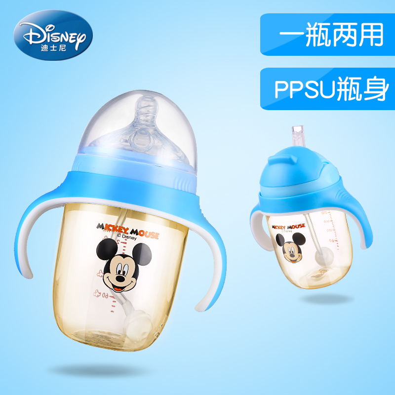Disney PPSU <font><b>Baby</b></font> Feeder Wide Break-resis