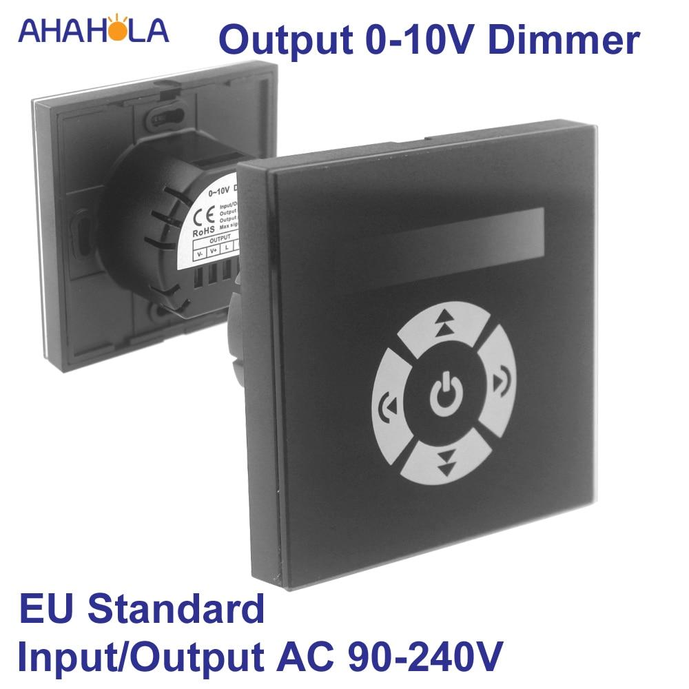 Touch Led Dimmer 220v EU Standard Output Led Dimmer 220 V 0-10v Dimmer for Led Lamp 220v Touch Switch ControlTouch Led Dimmer 220v EU Standard Output Led Dimmer 220 V 0-10v Dimmer for Led Lamp 220v Touch Switch Control