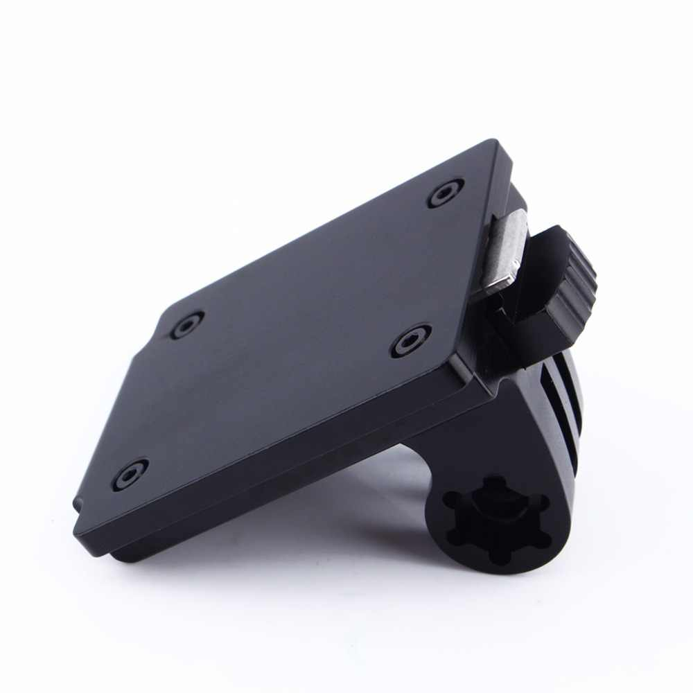Крепление на шлем для GoPro аксессуары для шлема Алюминий фиксированной крепление для Go pro Hero3 Hero2 Камера HD и Крепежная основа для NVG горячая Распродажа 2019